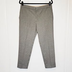 Chloe Mini Checked Houndstooth Tapered Pant